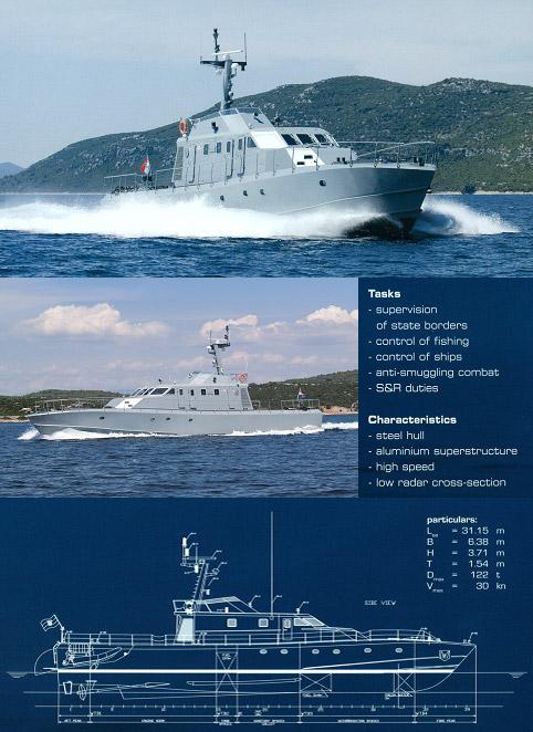 PV30LS – Coast Guard Patrol Vessel