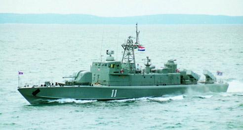 Fast Missile Corvette Class Petar Kresimir IV