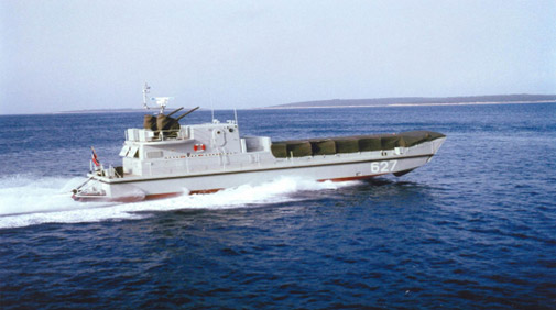 GRP Landing Assault Boat