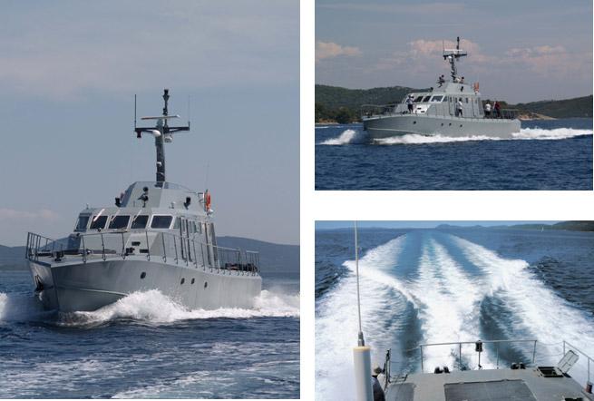Patrol Vessel  (Low Silhouette) Type PV30-LS