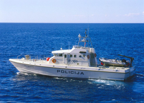 GRP Coast Guard Patrol Boat