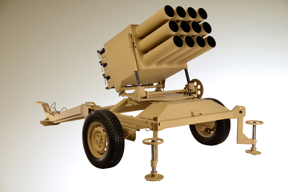 128mm Multiple Rocket Launcher