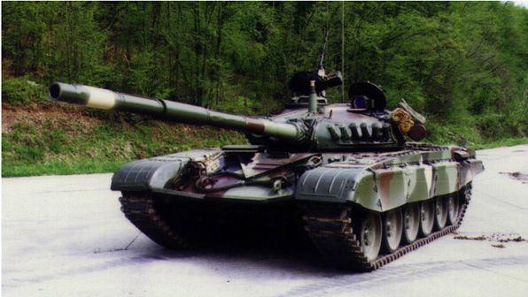 Main Battle Tank M-84