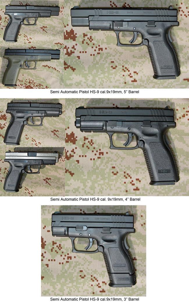 Semi Automatic Pistol Type HS