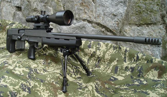 Sniper Rifle cal .300 WM Model BP M08
