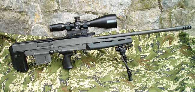 Sniper Rifle cal .338 Magnum Model BP M08M