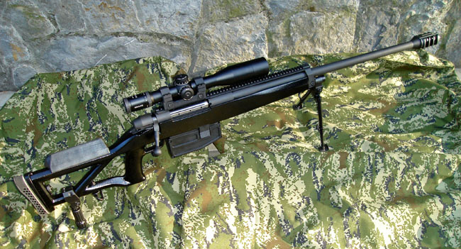 Sniper Rifle MACS M4 cal. 12,7x99mm (.50)
